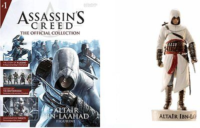 Assassins Creed the Official Collection Altair Ibn-La'ahad #E2 - Free p&p