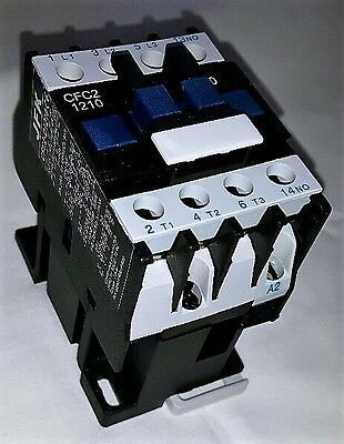 ac contactor 12 amp 5.5kw 3 pole  24 volt coil with 1 N/O  auxiliary New!!!!