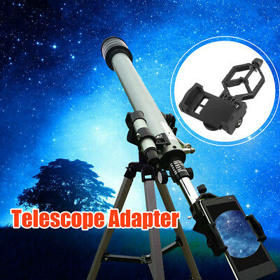 New Mobile Cell Phone Adapter Mount For Spotting Scope Telescope and Microscope