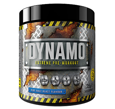 Protein Dynamix Dynamo Extreme Pre-Workout Powder Shake Drink - Intense Workout!
