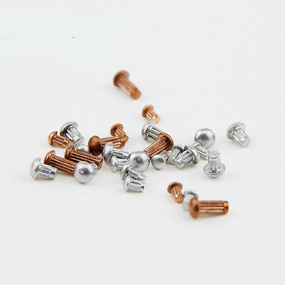 M2 M2.5 M3  Copper / Aluminum Signs Rivet Knurled Rivet Solid Rivets 100pcs