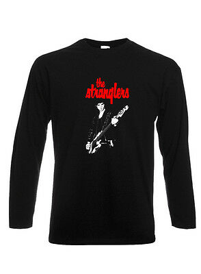 The Stranglers T Shirt JJ Burnel  Unisex / Long Sleeve / LadyFit PUNK Peaches