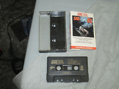 Ozzy Osbourne - Bark at the Moon (Cassette, Tape) Working Great tested