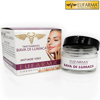 Eufarma Crema Viso Anti Age Bava Di Lumaca Antirughe 50 Ml Eufarma Made In Italy
