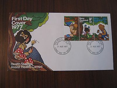 New Zealand 1977 Health Issue First Day Cover