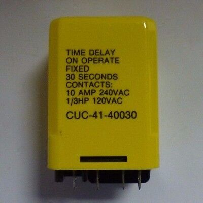 Potter & Brumfield Cuc-41-40030 Solid State Relay Nsn: 5945-01-095-8548