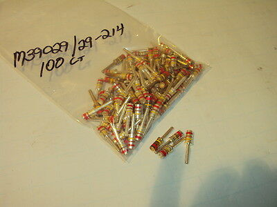 M39029/29-214 Mil Spec Gold Plated Circular Contact 100 Pieces