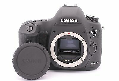 Canon EOS 5D Mark III 22.3MP Digital SLR Camera - (Body Only) Shutter Count: 116