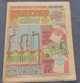 Whizzer and Chips Comic  26th August 1978