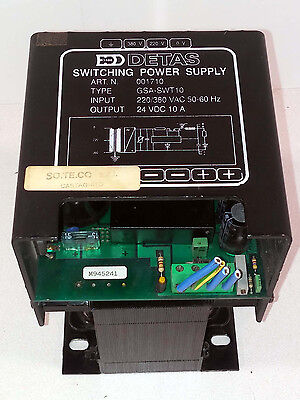 1 Used Detas Gsa-Swt10 Switching Power Supply 001710 ***make Offer***