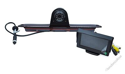 "Mercedes Sprinter LED IR 3rd Brake Light Rear View Reversing Camera + 4.3"" LCD"