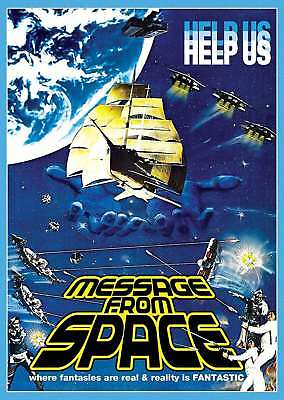 New: MESSAGE FROM SPACE - DVD w/ Special Features