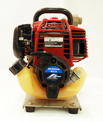 Honda WX10K1A Water Pump with a 4-stroke Engine