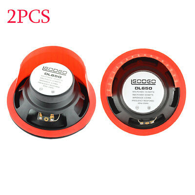 2PC 6.5 inch Car Speaker Waterproof Cover Car Horn Plastic Spacer Protective