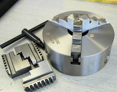 160 mm 3 Jaw Self Centering Lathe  Chuck BRAND NEW FROM CHRONOS