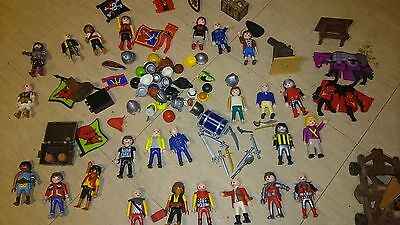 Play mobil characters large collection mixed collectable.
