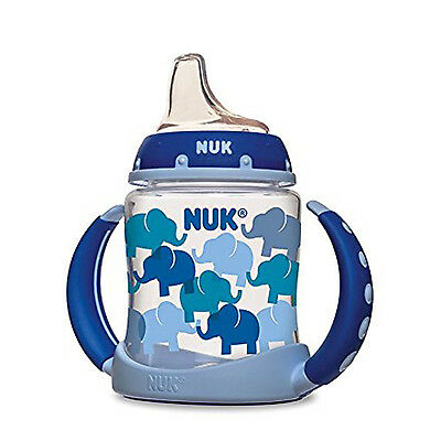 Baby Toddler Infant Silicone Spout Learner Sippy Cup 5 Ounce 6+ By NUK Boys