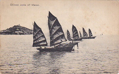 Chinese junks off MACAO , China , 00-10s