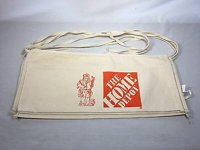Home Depot Canvas Nail Apron Bag with HOMER - Cash Change Flea Market pouch
