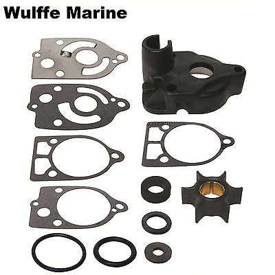 Water Pump Impeller Kit For Mercury Mariner 2 cyl 30 35 40 Hp 46-60366A1 18-3507