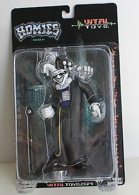 "New Large 7"" Homie figure JOKAWILD - Vital Toys made these homies figures rare"