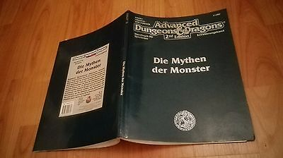 Die Mythen Der Monster Ad&d Advanced Dungeons & Dragons