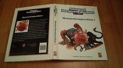AD&D 2nd EDITION DUNGEONS&DRAGONS MONSTERKOMPENDIUM 1 I SEHR GUTER ZUSTAND