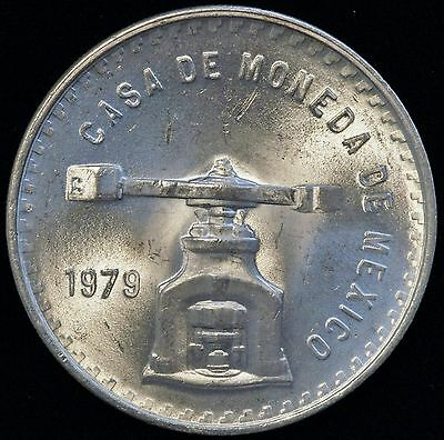 1979 Mexico 1 One Silver Onza Monster ONZA Coin Press BU (LV#631)