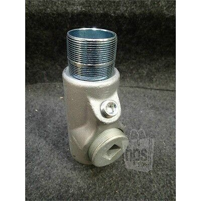 """Crouse-Hinds EYS616 2"""" Male/Female Conduit Sealing Fitting, Iron Alloy"""