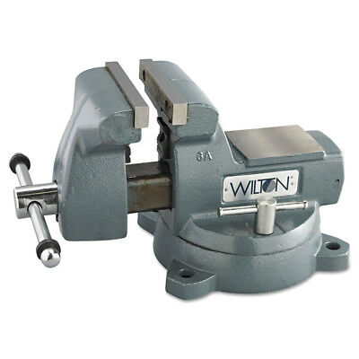 JET 21500 5-3/4 in. Automotive Steel Mechanic's Vise with Swivel Base New