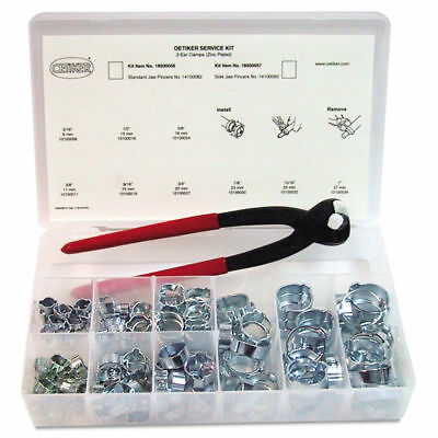 Oetiker 18500056 SK1098 Tamper-Proof Durable Seal Clamp Service Kit New