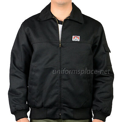 Ben Davis Mens Quilted Lined Bomber Jacket Unknown