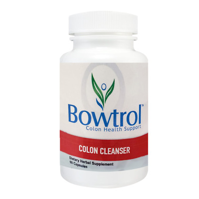 Bowtrol Colon Cleanse for Optimum Digestive Health – Original Manufacturer