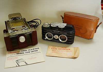 Sawyers View Master Stereo Camera and Film Cutter Vintage