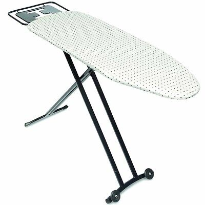 New Ironing Board with Wheels Iron Foldable Cover Table Stand Top Home Cotton