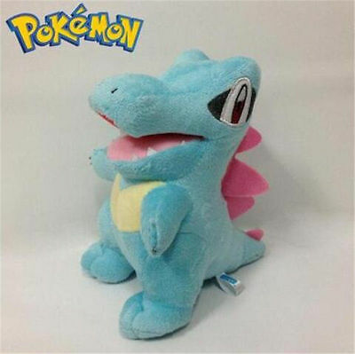 """6"""" Cute Pokemon Totodile Plush Doll Toy Stuffed AnimalKids Gift Collectible Toy"""