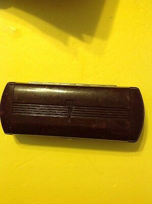 Antique Doctor's Orig Cased Medical Opthalmoscope-Nice!