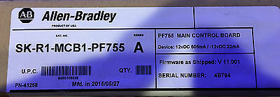 Allen Bradley PF755 MCB SK-R1-MCB1-PF755 Series A (new in box)