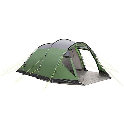 Outwell Two-Room Tunnel Tent Camping Festival Grey and Green Prescott 500 110742