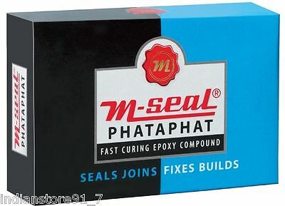 1 X Pidilite M-Seal Phataphat Fast Curing Epoxy Compound Buy Get 3 More 1 Free