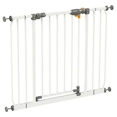 Baby Safety Gate Pet Dog Child Door Stair Security Barrier Kids Play Metal Safe