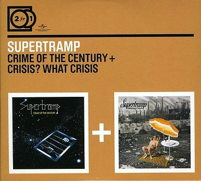 2 For 1: Crime Of The Century / Crisis? What Crisis? - Supertramp - Audio (m8x)
