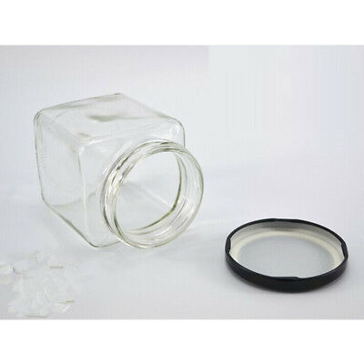 Air Tight Glass Spice Jar Traditional Clip Canister Container Kitchen CHOOSE