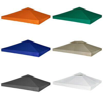 #b 3 x 3 m Outdoor Gazebo Cover Canopy Top Cover Replacement 6 Colours 270 g/m²