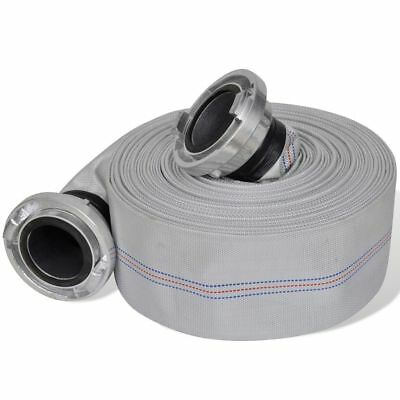 """#bNew 20/30 m 3""""Fire Hose with B-storz Aluminium Coupling Coupled Flat Hose Tool"""