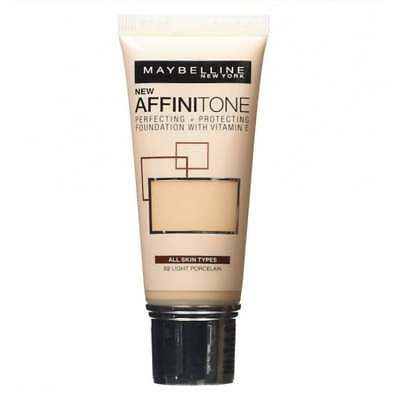Maybelline Affinitone Perfecting Protecting Grundierungskreme 02 Light Porcelain