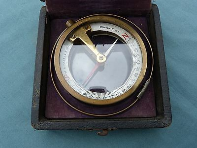 Antique Darley Magnetic Dipping Compass Mining