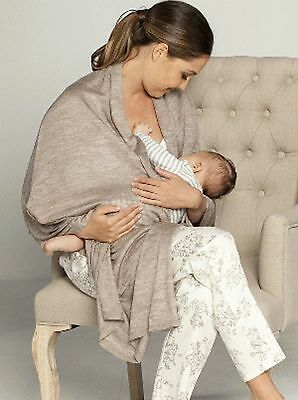 BNWT Nursing Wrap maternity clothes breastfeeding top cover clothing baby wool