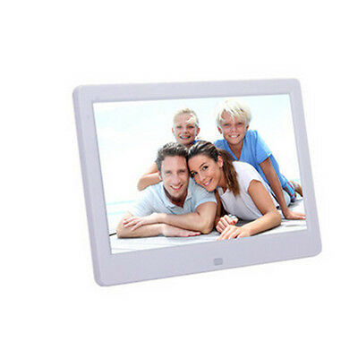 "10.1"" HD Digital Photo Frame Picture Alarm Clock MP4 Movie Player Remote Control"