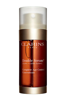 Clarins / Double Serum Traitement Complet Anti Age / Anti Rides Intensif Neuf